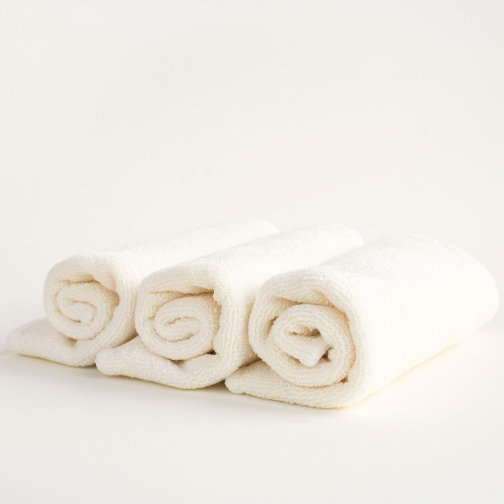 serviettes biologique réutilisable bio cotton bambou skincare