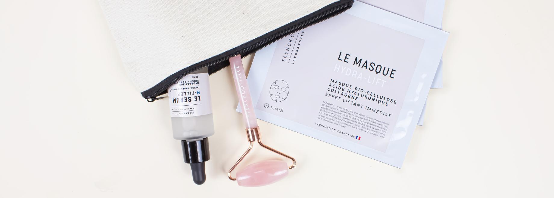 routines French Filler beauty skincare cosmeceutique sérum quartz